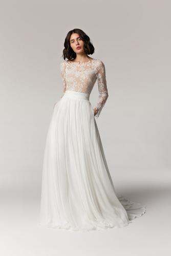 citrine skirt & duna top dress photo