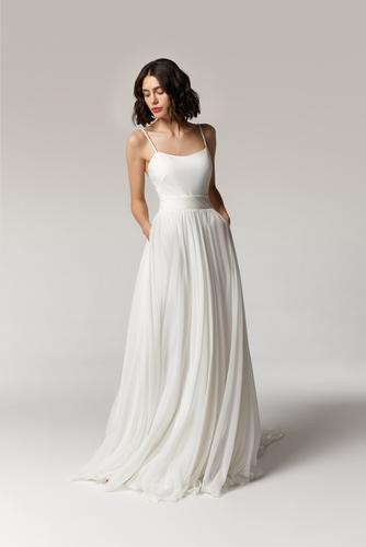 citrine skirt & meve top dress photo
