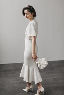 outfit sue short & long dress photo 3