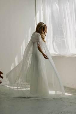 florainne cape dress photo