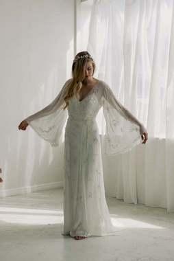 dahlia wrap dress photo