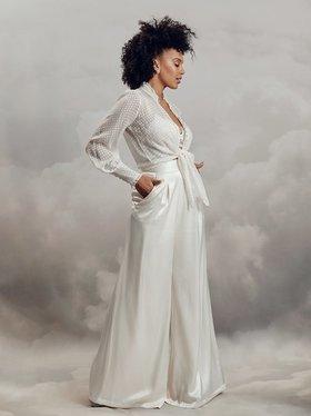 swan blouse  dress photo