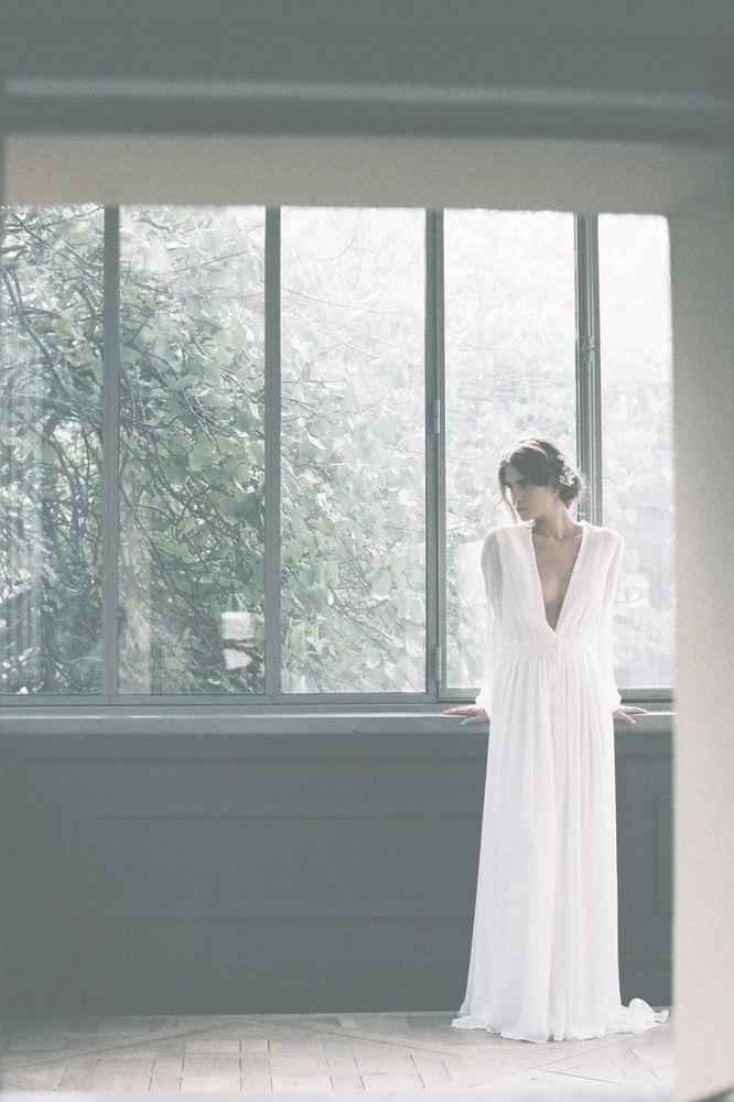 a clear midnight  dress photo