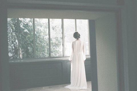a clear midnight  dress photo 3