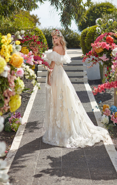 casablanca lily dress photo