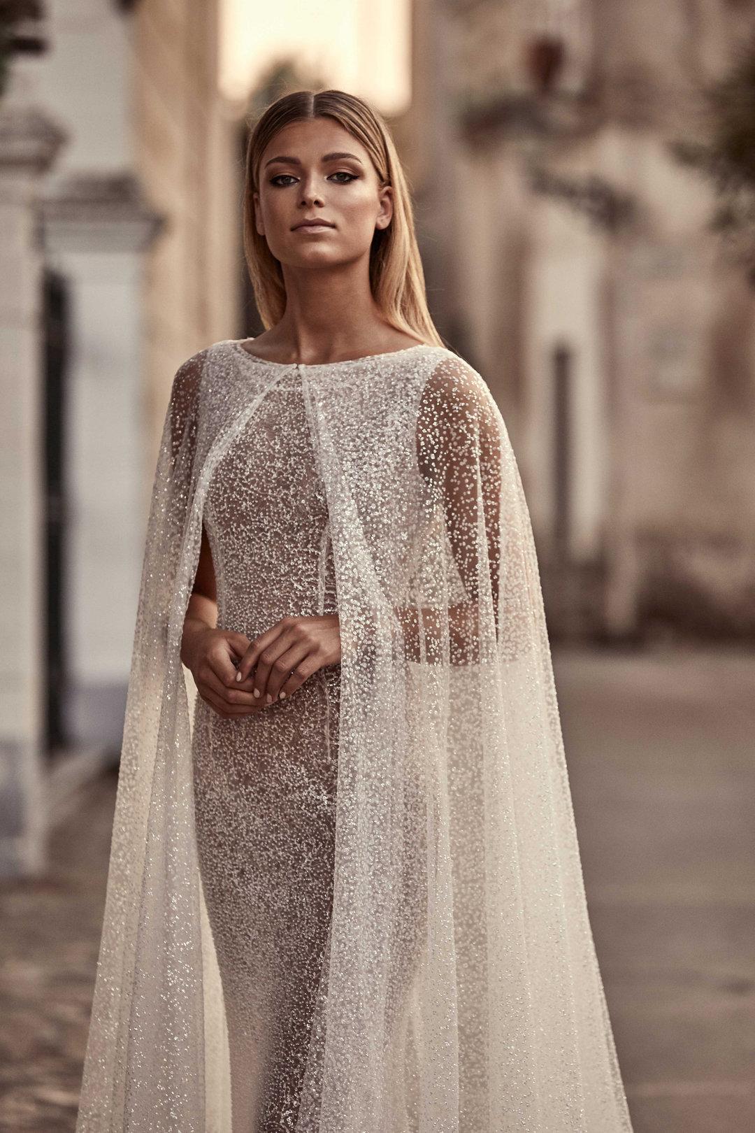 haven cape dress photo