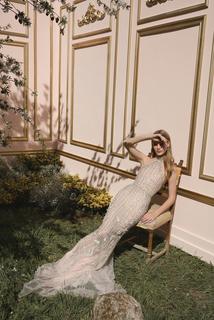 gold dress photo 1