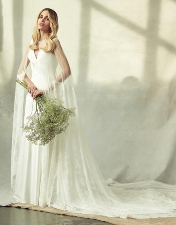 frances cape dress photo