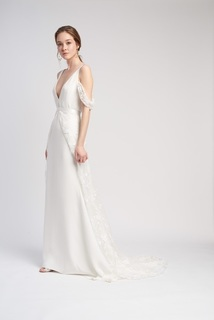 sabine skirt & sleeves dress photo 1