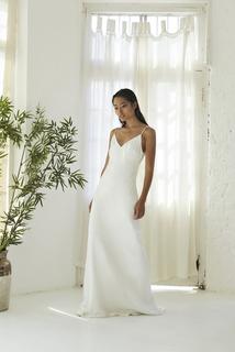 greta slip dress photo 2