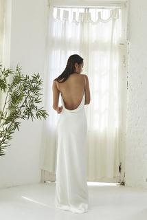 greta slip dress photo 3