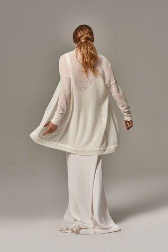 sweater  & shawl  dress photo