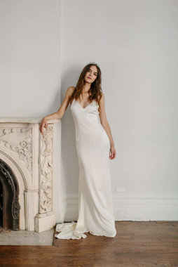 astrid slip gown  dress photo