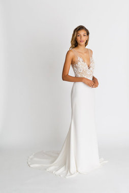 lila gown dress photo