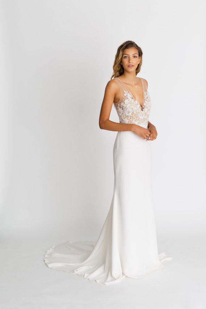 lila gown dress photo