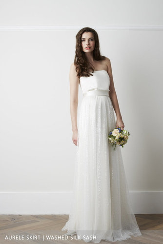 aurelle overskirt dress photo