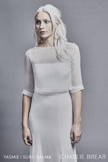 suri organza top dress photo 1