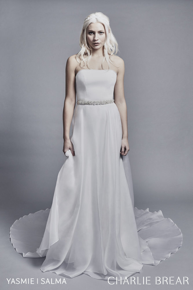 salma overskirt dress photo