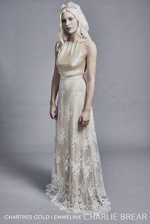 chartress gold dress photo 2