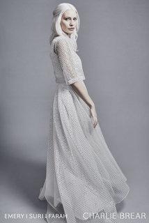 suri gold dash top & farah skirt dress photo 2