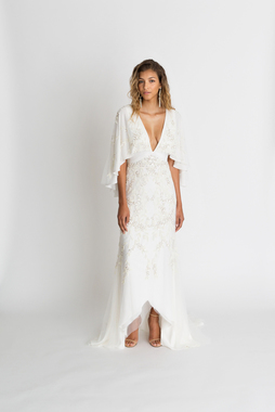 sawyer gown embroidered  dress photo