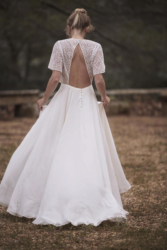 she walks in beauty dress photo