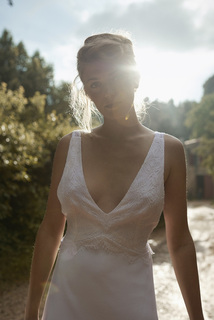 soft light dress photo 1