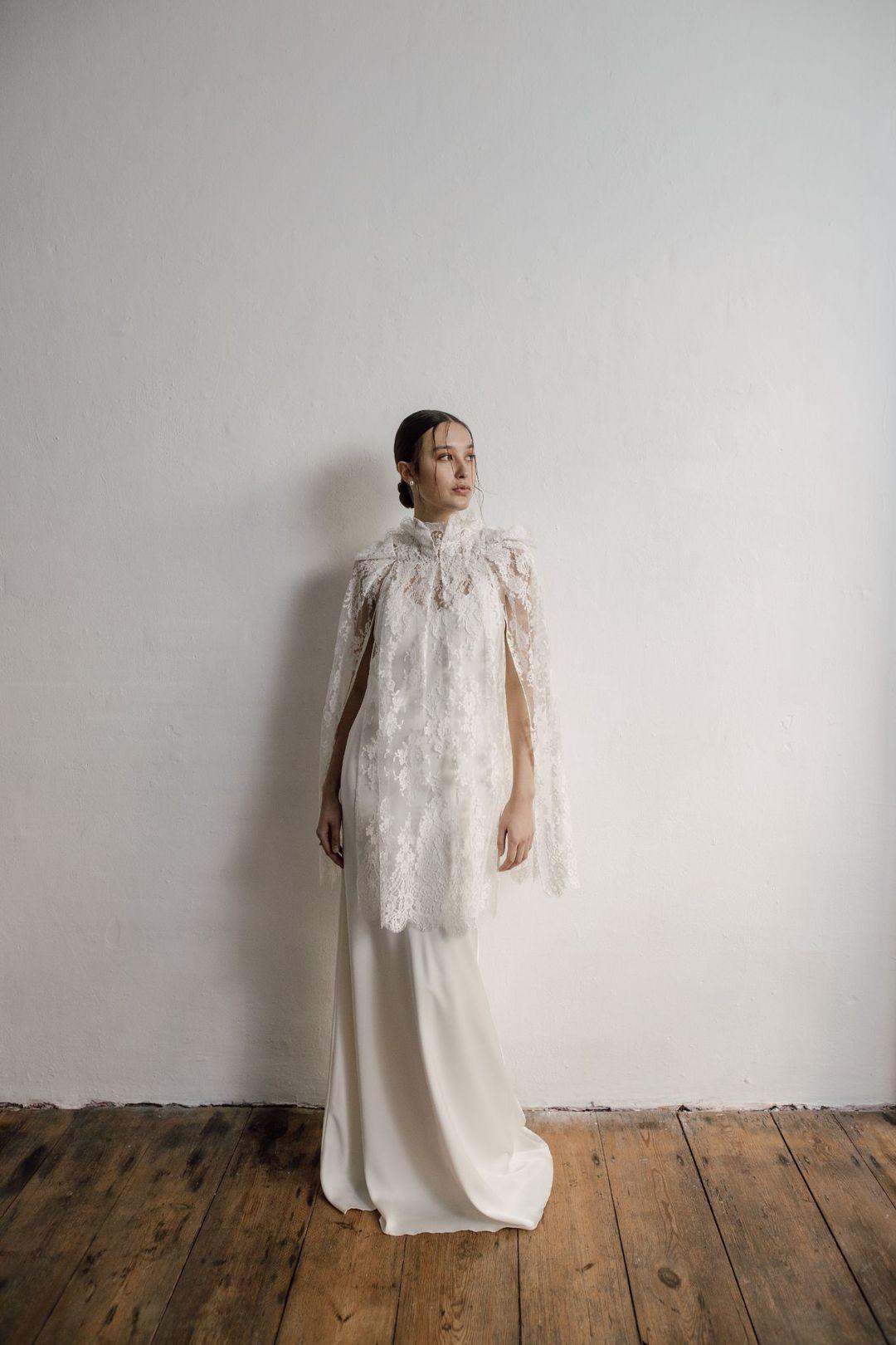 mellow cape dress photo
