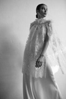 mellow cape dress photo 2