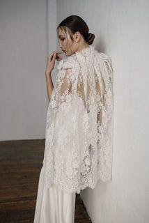 mellow cape dress photo 3