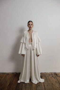 sleek jacket dress photo