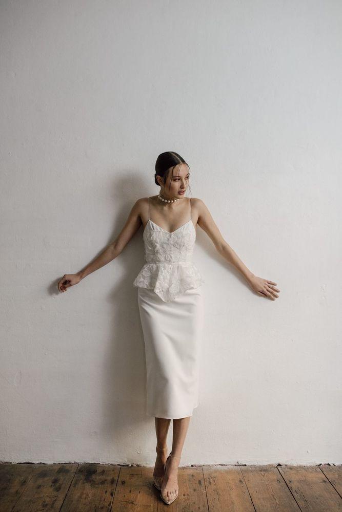 slip dress dress photo