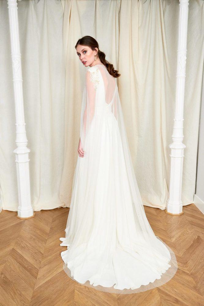 ines cape dress photo