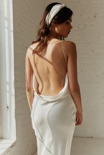 greta slip dress photo 1