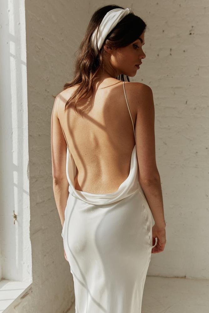 greta slip dress photo