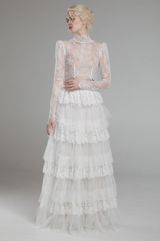 rhea top & lara skirt dress photo