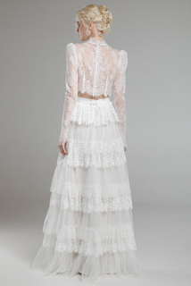 rhea top & lara skirt dress photo 2