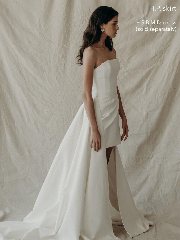 h.p. over skirt  dress photo
