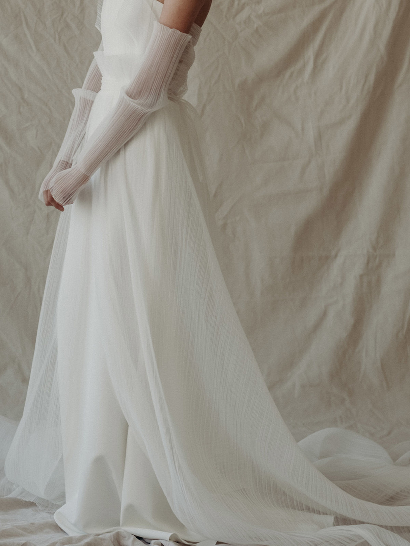 t.w overskirt dress photo