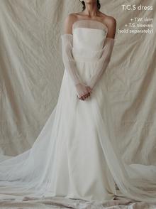 t.w overskirt dress photo 2