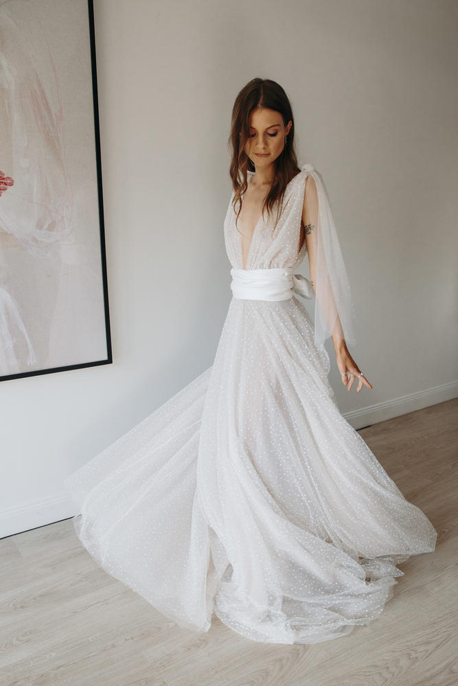 snow skirt  dress photo