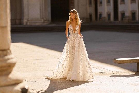 berta bridal couture trunk show event photo