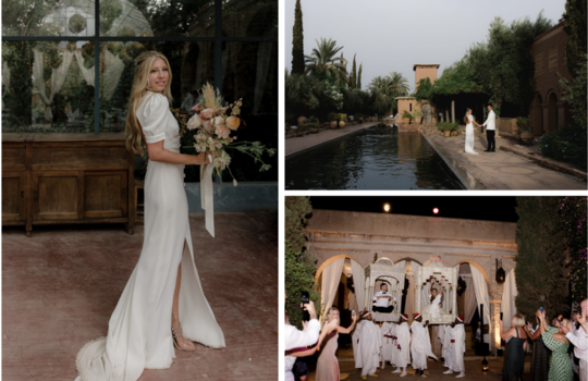 magic wedding in morocco  inspiration photo