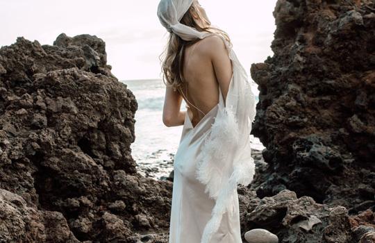 spotlight on slip gowns inspiration photo