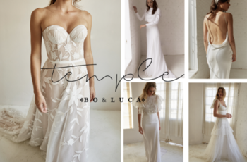 bo & luca's 2020 temple collection  inspiration photo