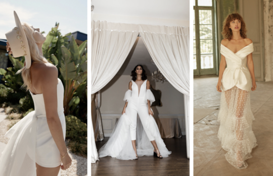 the modern bride's guide to dressing for your after party  inspiration photo