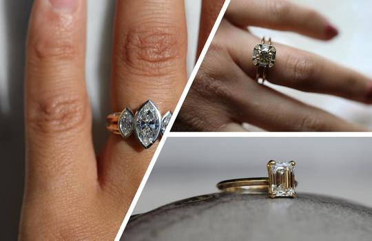 how to pick an engagement ring inspiration photo