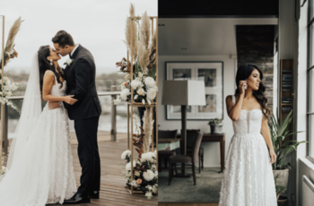 inside sarah and jeff's melbourne wedding  inspiration photo