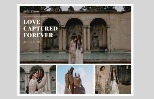 nuria & leona - love captured by the saums  inspiration photo