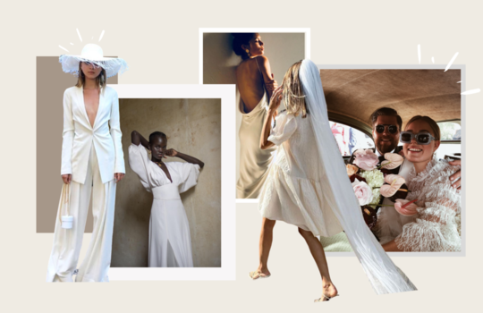 12 styles for your corona-compatible civil ceremony  inspiration photo